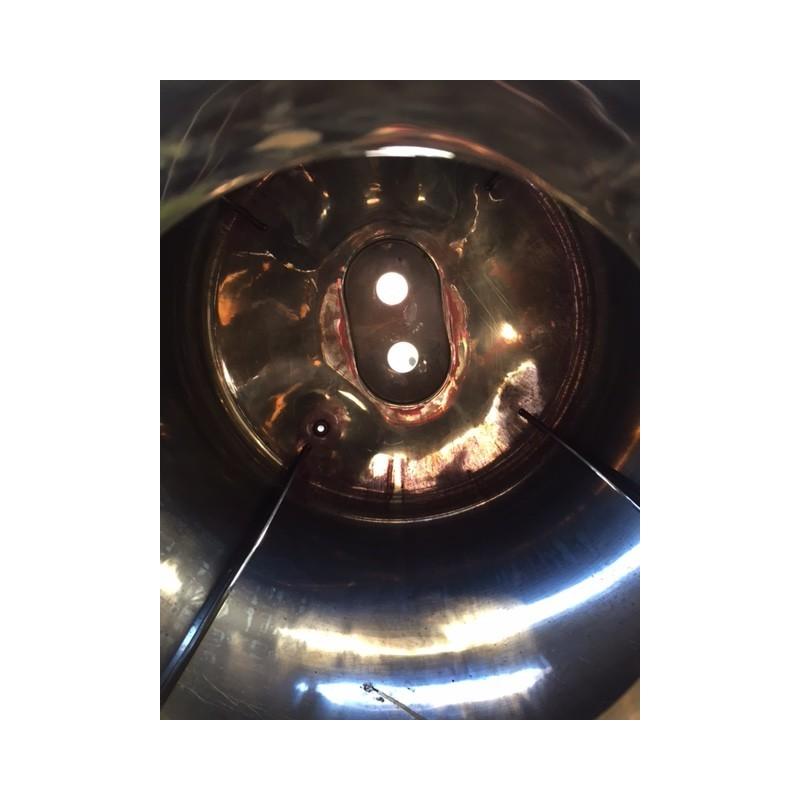 0198 Edelstahlbehälter, isoliert, 1,2 cbm