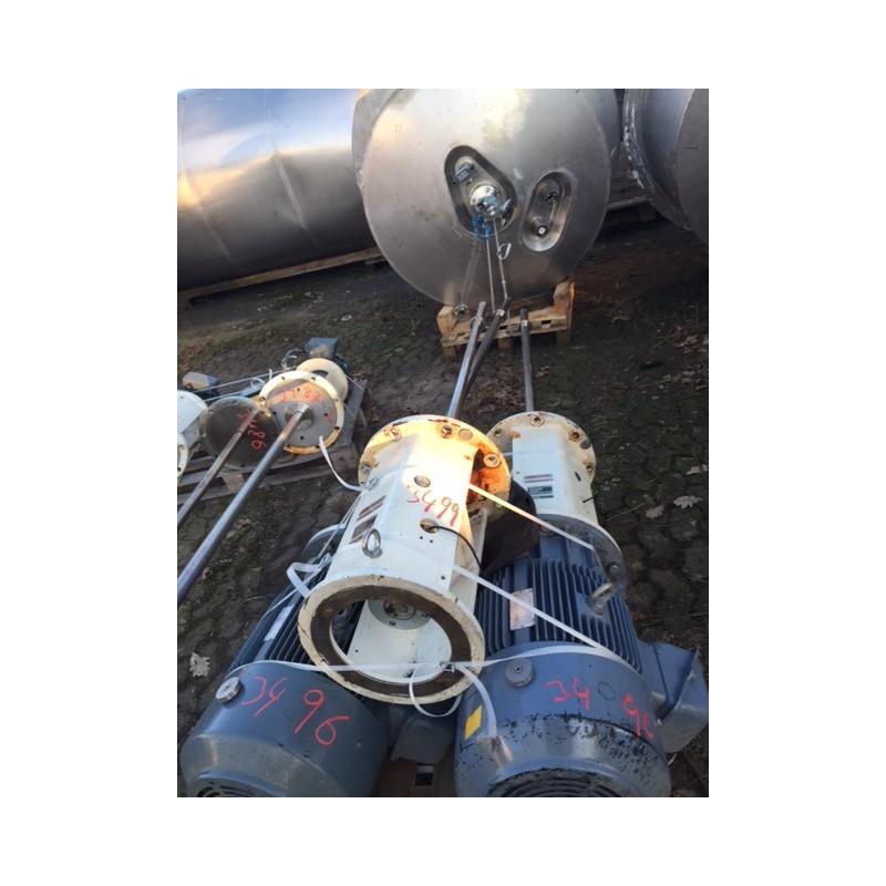 0200 Rührwerksbehälter, isoliert, 1,2 cbm