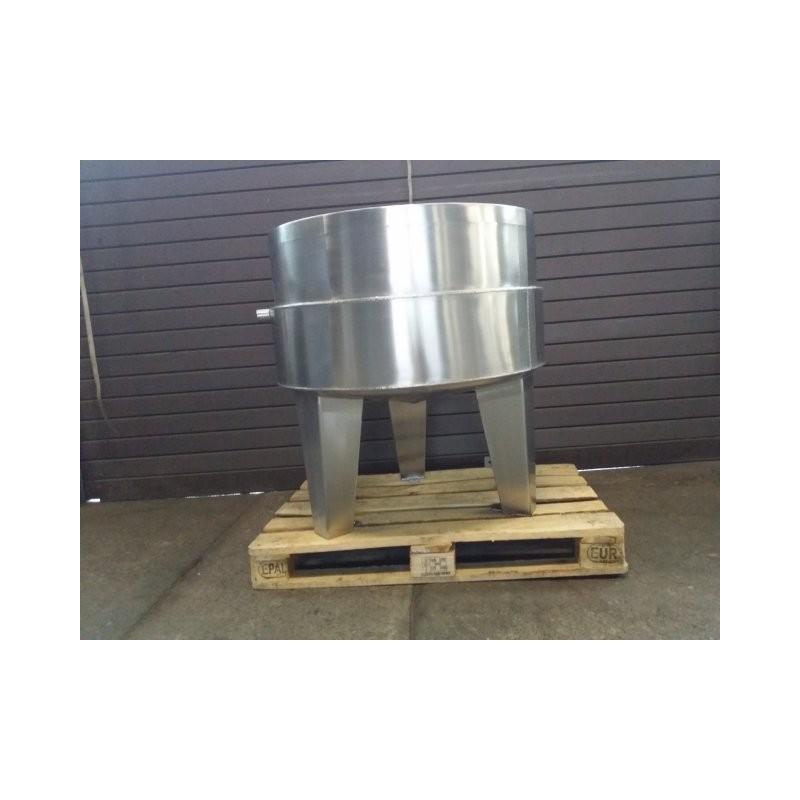0233 Edelstahlbehälter, Doppelmantel 0,355 cbm