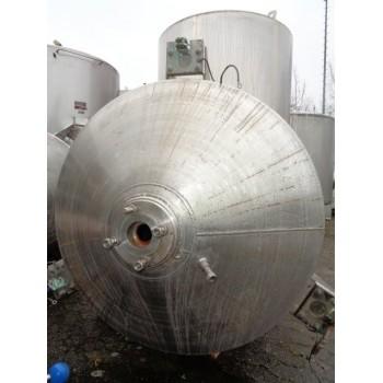0203 Edelstahlbehälter, Inhalt 1,1 cbm