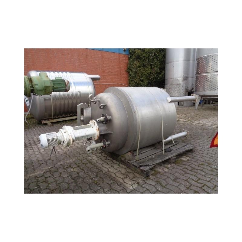 0192 Rührwerksbehälter, isoliert, 1,55 cbm