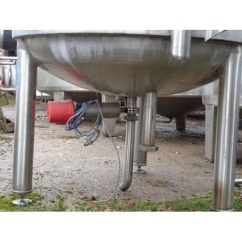 0193 Edelstahlbehälter, isoliert, 1,5 cbm