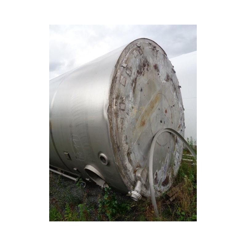 0015 Edelstahlbehälter, isoliert, 50 cbm