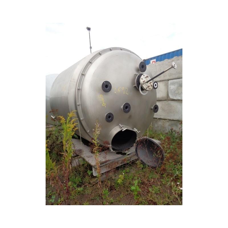 0138  Rührwerksbehälter, isoliert, 4,5 cbm