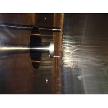 0120 Edelstahlbehälter, isoliert, 5,5 cbm