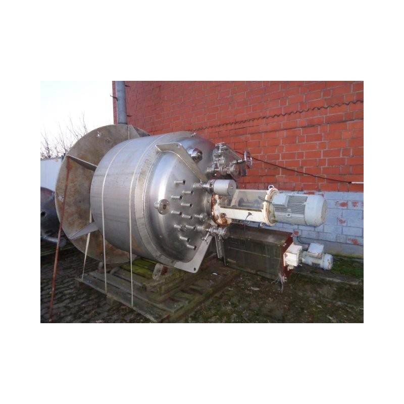 0184 Rührwerksbehälter, isoliert, 1,7 cbm