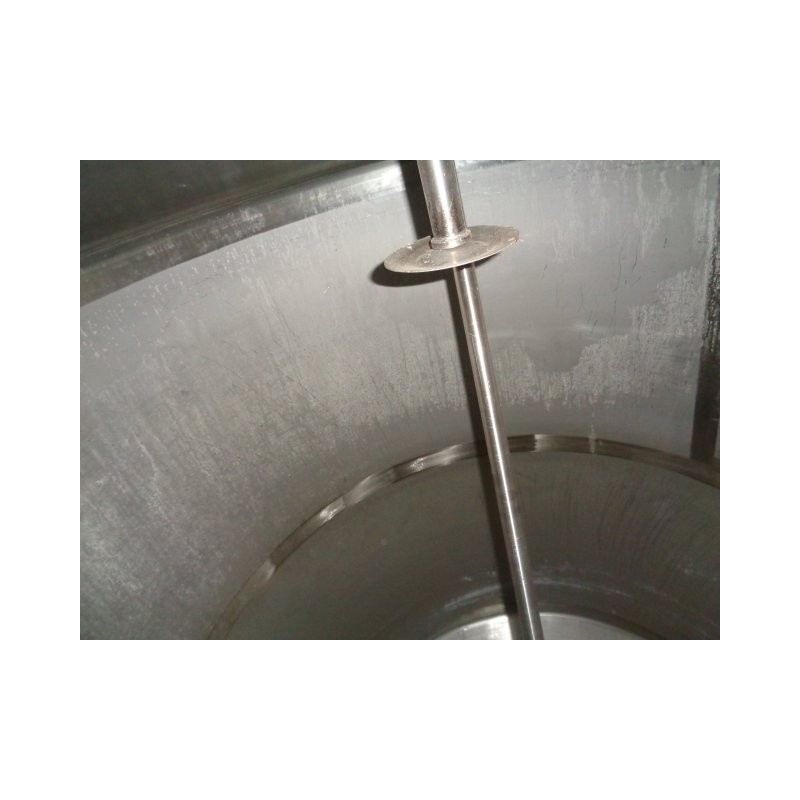 0133 Edelstahlbehälter, Doppelmantel, 5 cbm