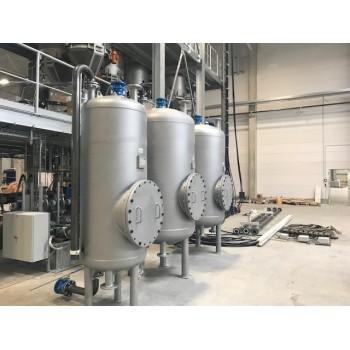 Werksneue Druckbehälter aus Stahl für Druckluft und Druckwasser