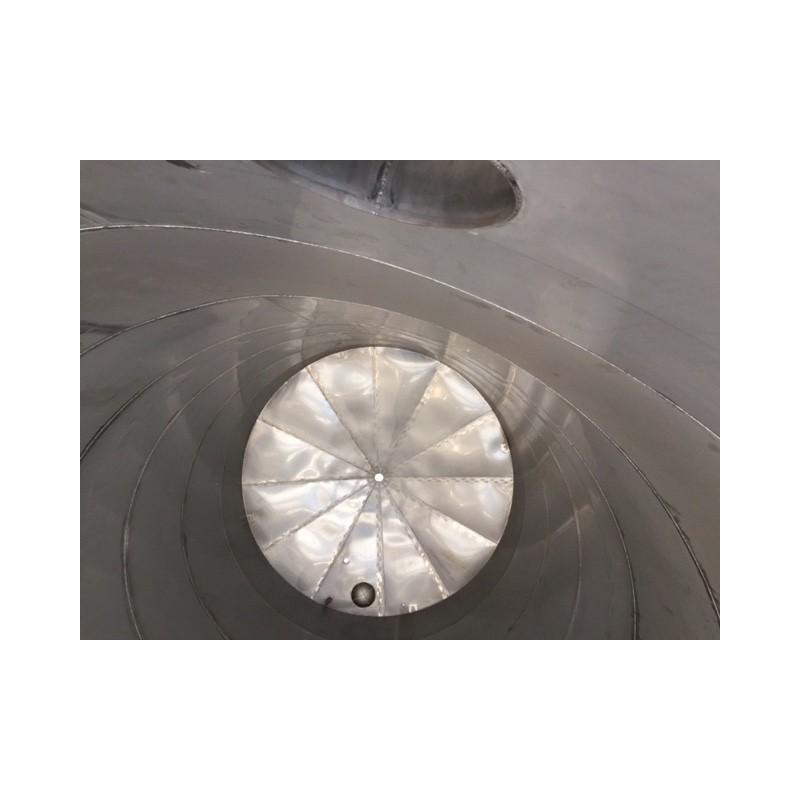 Standortgefertigte Edelstahlbehälter mit Beheizung