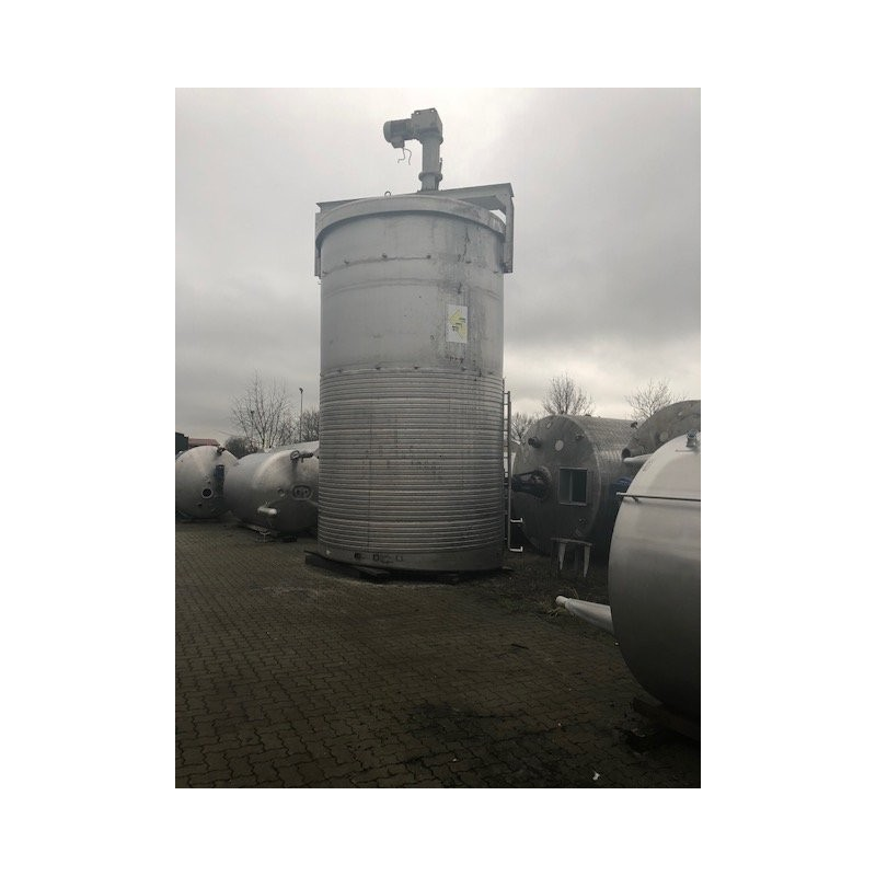0017 Rührwerksbehälter, isoliert, 50 cbm