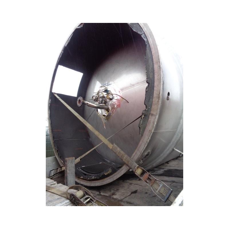 0059 Edelstahlbehälter, isoliert, Doppelmantel, 20 cbm