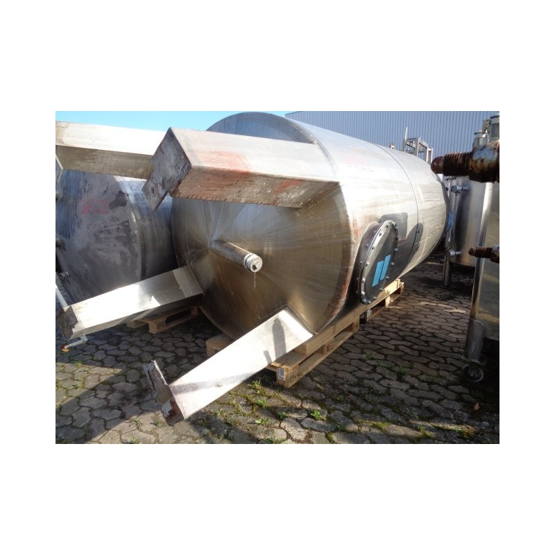 0121 Edelstahlbehälter, 5,5 cbm