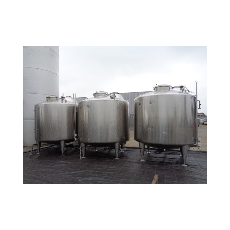 0122 Edelstahlbehälter, 5,5 cbm