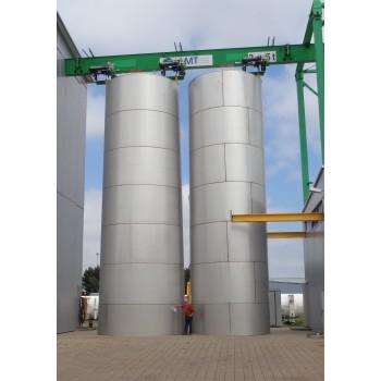 0001 Flachbodenbehälter, 205 cbm