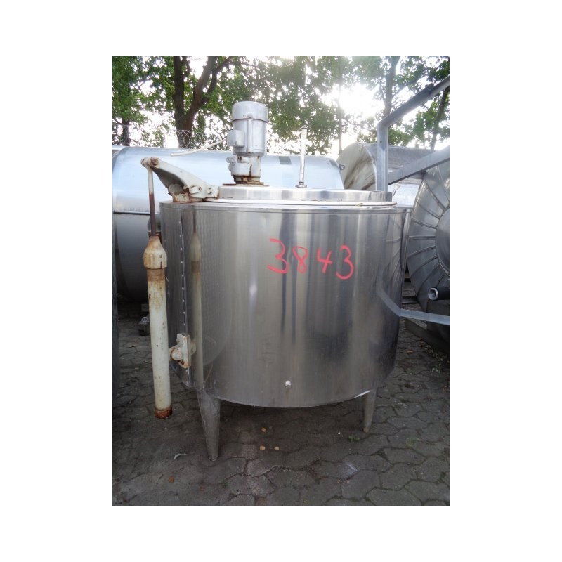 0231 Rührwerksbehälter, Doppelmantel, 04 cbm