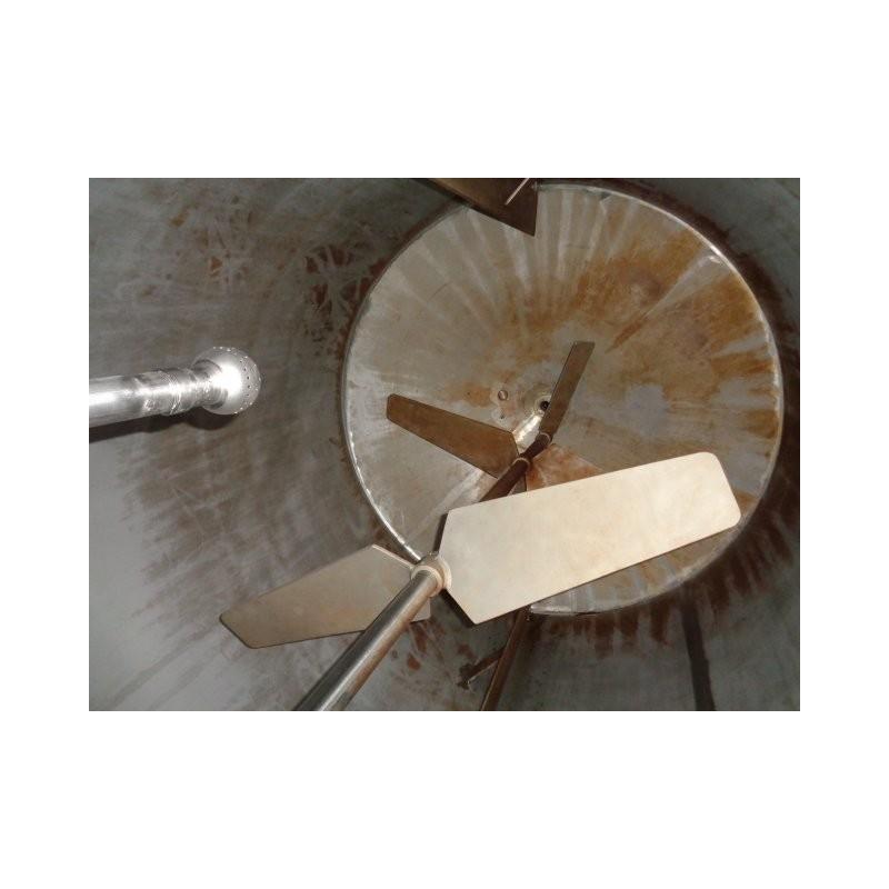 0125 Edelstahlbehälter, isoliert, 5,5 cbm