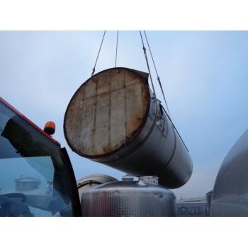 0018a Rührwerksbehälter aus Edelstahl, 50 cbm