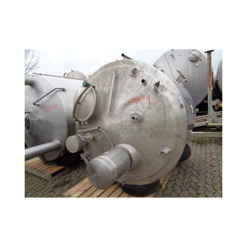 0165a Rührwerksbehälter, 2,58 cbm
