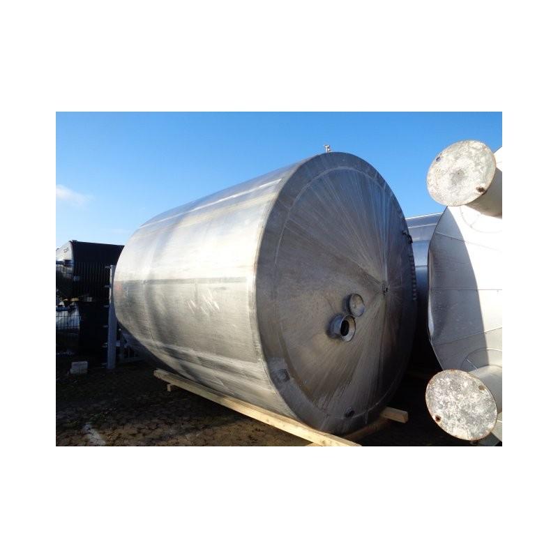 0062 Rührwerksbehälter, isoliert, 17 cbm