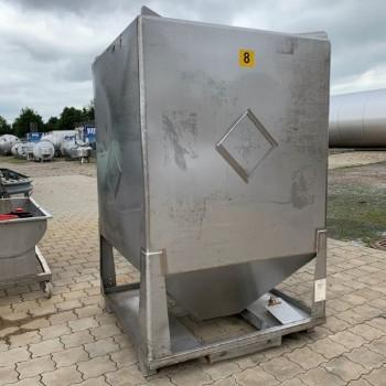 Schüttgutcontainer, 3 cbm