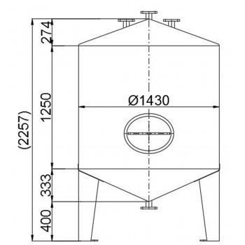 Werksneue V2A (1.4301)...
