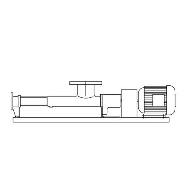 Netzsch-Pumpe, Typ SK100 l/4TF