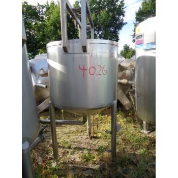 Edelstahlbehälter, 0,55 cbm