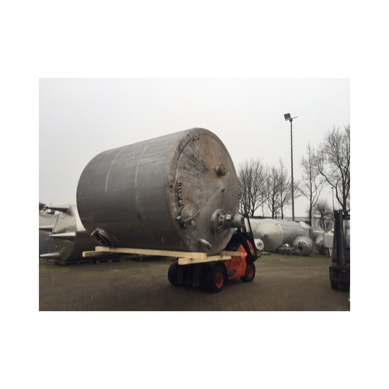 0080 Rührwerksbehälter, isoliert 11 cbm