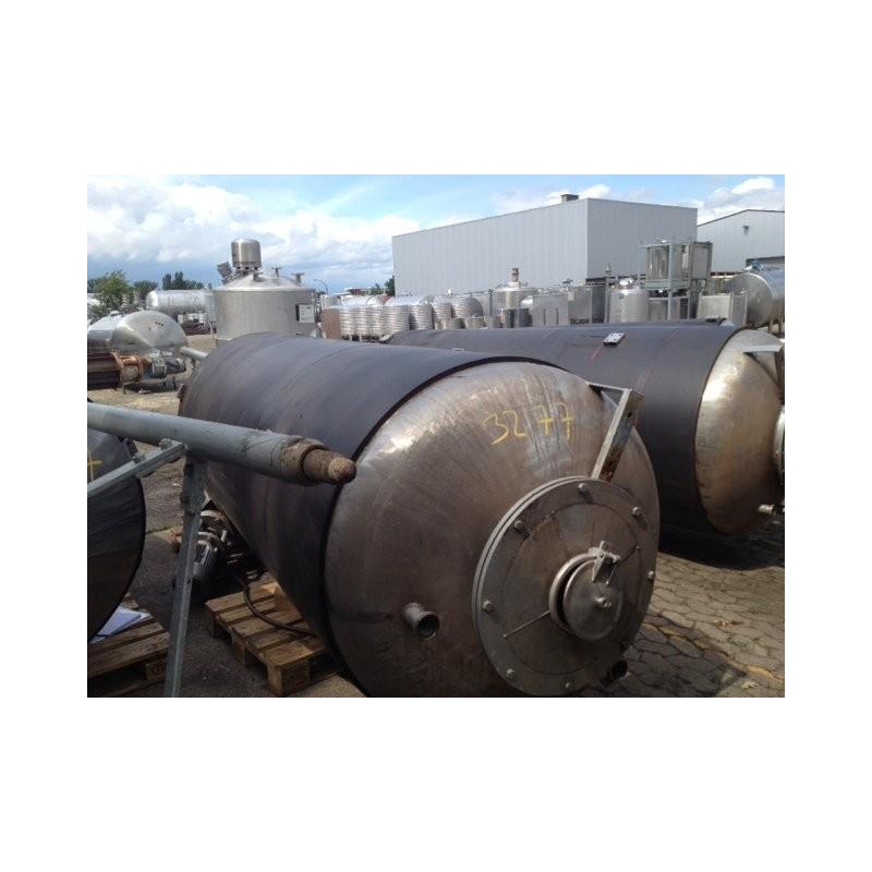 0148 Rührwerksbehälter, isoliert, 4 cbm
