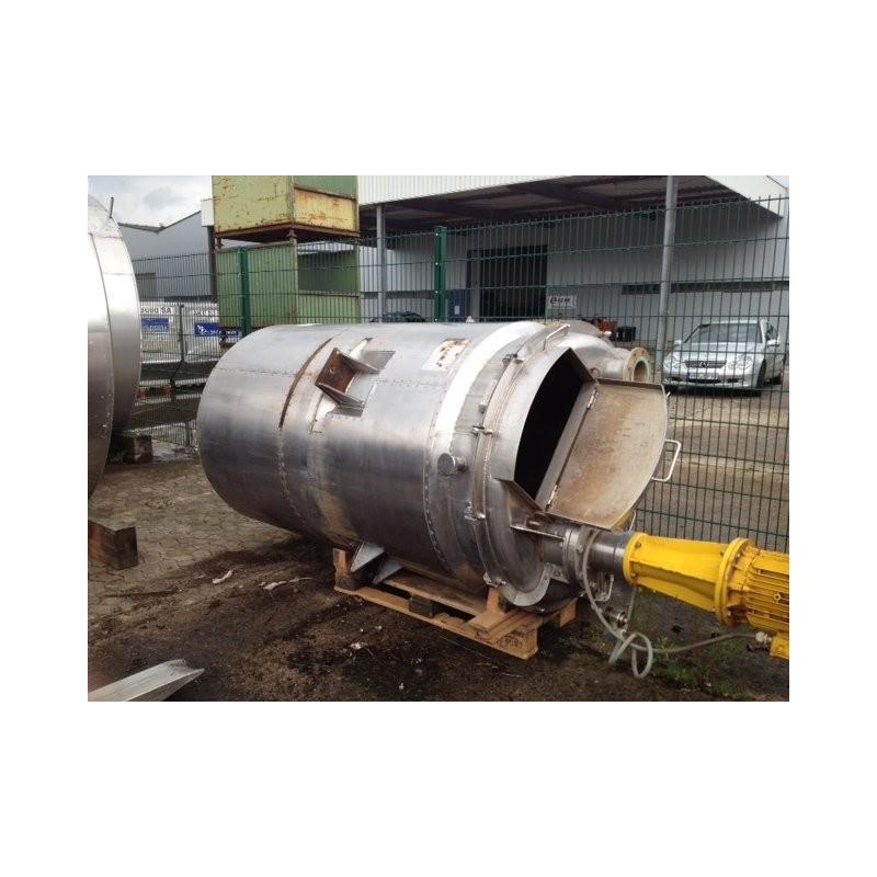 0182 Rührwerksbehälter, isoliert, 1,7 cbm