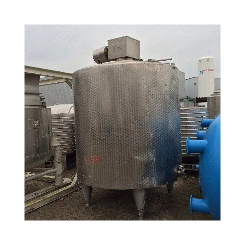 0151 Rührwerksbehälter, isoliert, 4 cbm