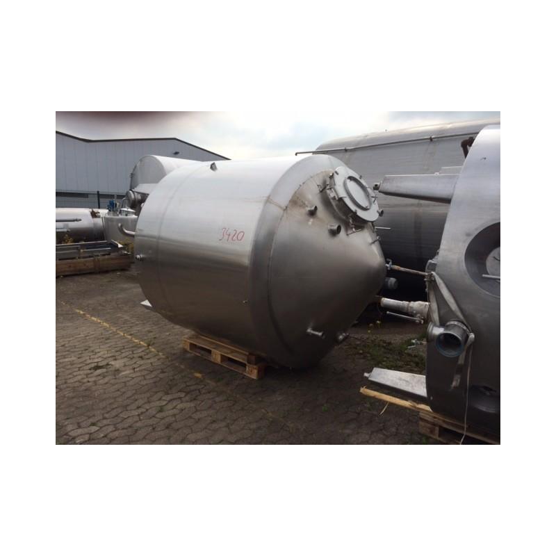0153 Rührwerksbehälter, isoliert, 4 cbm