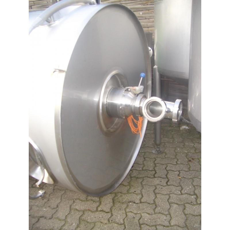 0159 Edelstahlbehälter, isoliert, 3,85 cbm